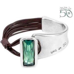 Uno de 50 Cuff Bracelet Aurora Borealis